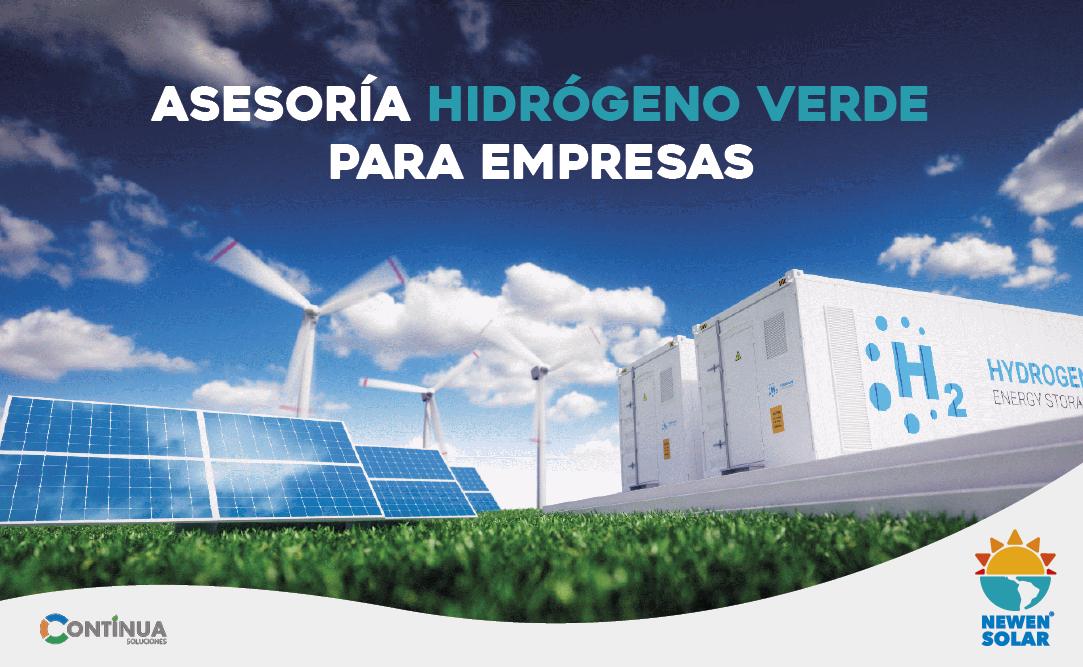 Asesoria Hidrogeno Verde Empresas - Continua Soluciones - Newen Solar
