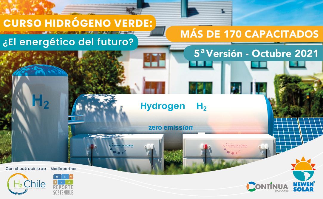 curso hidrogeno verde newen solar continua soluciones